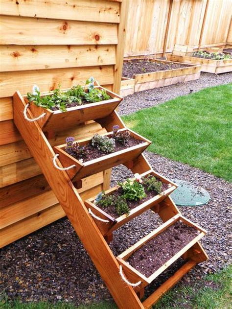 Herb Garden In Planter Boxes by 20 Creative Pallet Gardening Ideas Smash Trends