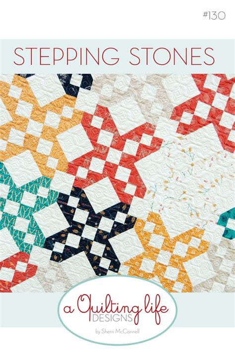 quilt pattern stepping stones stepping stones quilt paper pattern