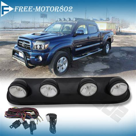 jeep lights on top roof top fog driving light bar for suv truck jeep