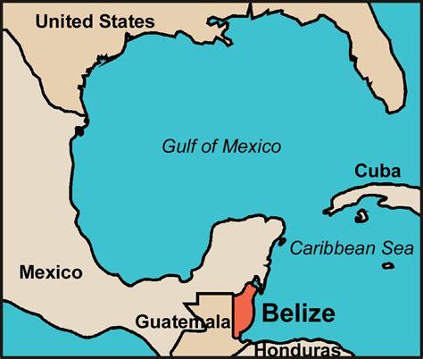 map of belize central america belize world map roundtripticket me