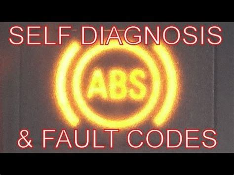 fix  abs abs warning light   diagnosis