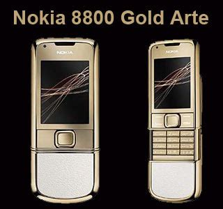 themes nokia 8800 gold arte nike mobiles march 2009