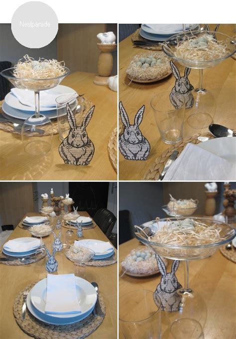 etagere ostern etageres for the easter table made out of wine glasses