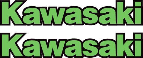 Kawasaki Aufkleber Tank by Kawasaki Motorbike Logo Design Custom Kawasaki Graphics