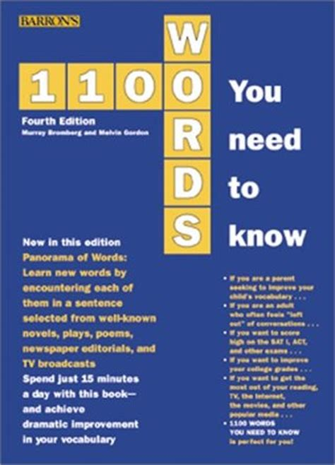 1100 words you need to books 1100 words you need to by murray bromberg reviews