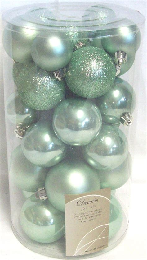 30 luxury shatterproof christmas baubles tree decorations