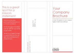 Folded Brochure Template by Blank Tri Fold Brochure Template Helloalive