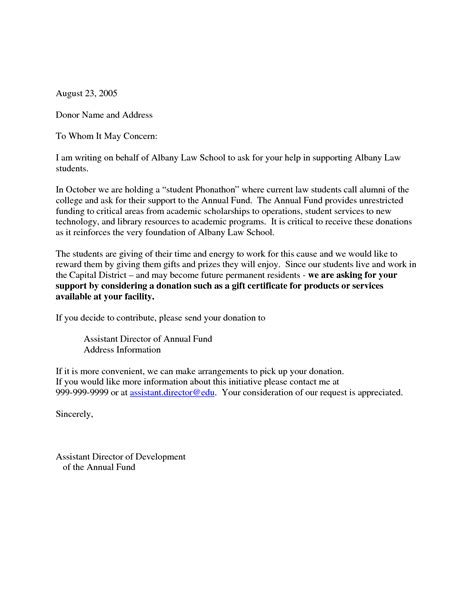 Business Letter Solicitation Template sle solicitation letter for just b cause