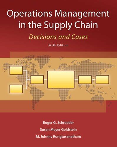 Decision Science Mba Book Pdf by Books Pdf Operations Management In The Supply Chain