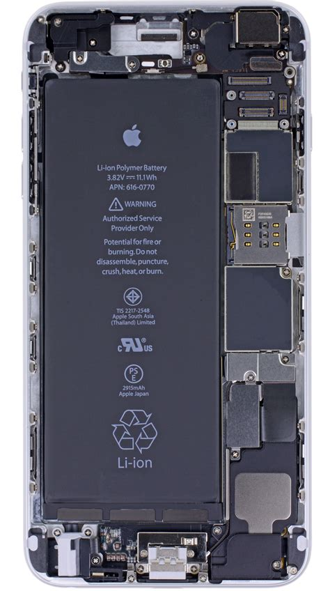 x vision internals wallpaper for the iphone 6 iphone 6 plus air iclarified