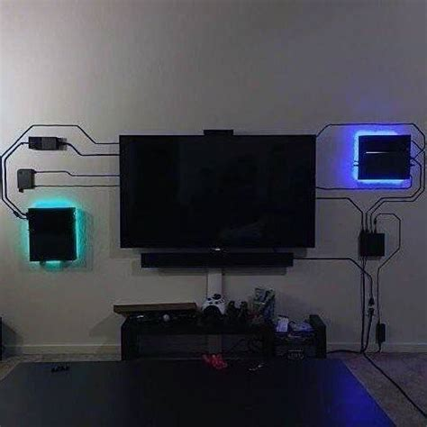 cable tv rooms 50 best setup of room ideas a gamer s guide