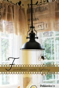 farmhouse lighting on