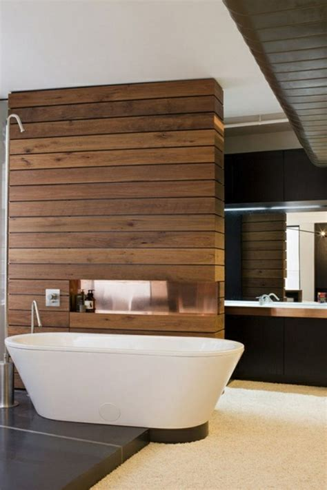 bathroom wall wood panels 63 wall panels wood the room very individual appearance