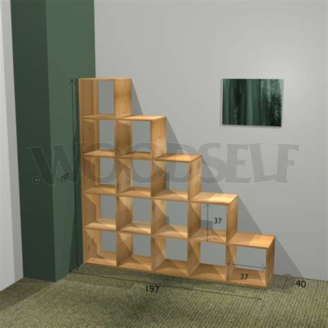 stair bookcase woodself free plans for woodworking