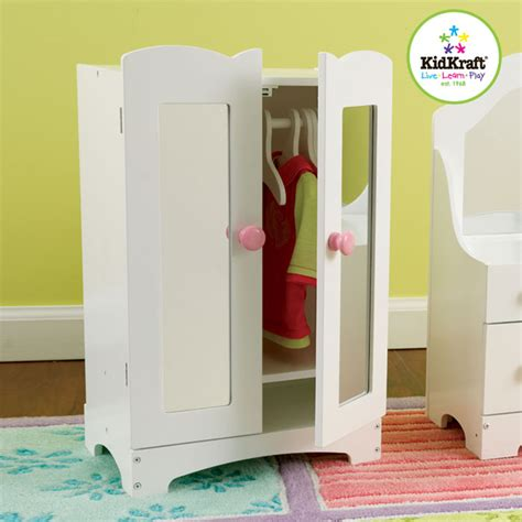 Kidkraft Doll Armoire by Kidkraft Lil Doll Armoire 60132