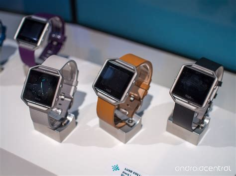 First look: The Fitbit Blaze smartwatch   Android Central