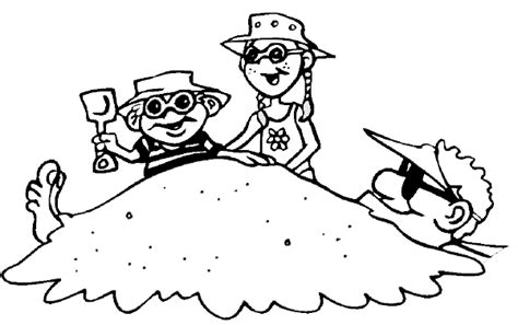 christmas vacation coloring page summer vacation coloring page brother and sister have fun