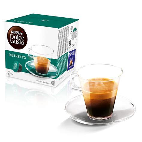 nescafe dolce gusto espresso ristretto espresso ristretto coffee pods nescaf 201 174 dolce gusto 174