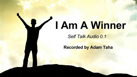 i am a self talk i am a winner
