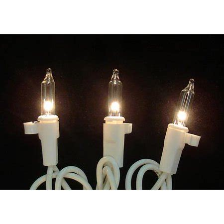 christmas mini lights fasteners 100 clear mini replacement lights with for yard decorations walmart