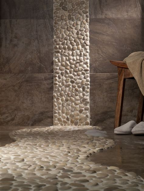 River Rock Bathroom Ideas by Pin By Caroline Berveling On Bathroom