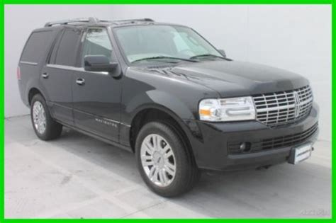 auto body repair training 2009 lincoln navigator l engine control purchase used 2011 lincoln navigator 5 4l v8 rwd suv with nav roof rear ent 1 owner car fax in