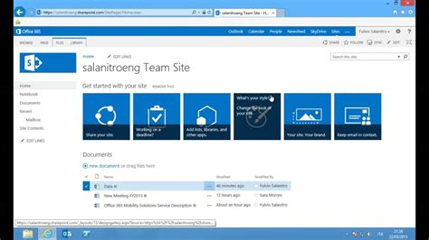 Office 365 Sharepoint Office 365 Sharepoint Technical Overview
