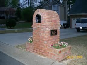 milford brick mailbox standard marietta 30008