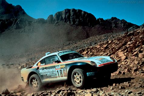 porsche dakar 1985 1986 porsche 959 dakar images specifications