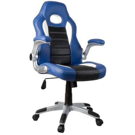 fauteuil de bureau sport fauteuil de bureau sport racing bleu et noir