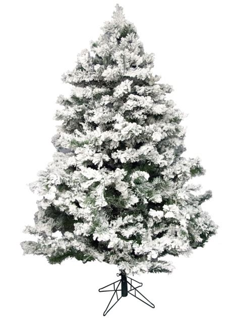 flocked antarctic pine christmas tree 1 83m christmas trees the christmas warehouse