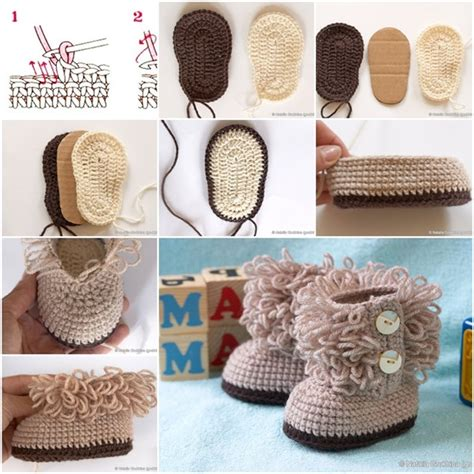 diy crochet projects cuddly crochet baby booties free pattern and tutorial