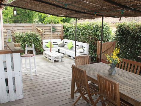 terrasse 40m2 mazet 4 pers clim pergola terrasse jardin 40m2 piscine