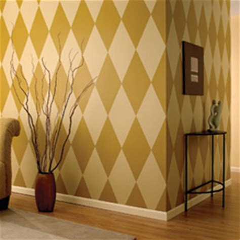 how to paint a diamond pattern on your wall maison d or 3m us scotchblue brand diamond pattern