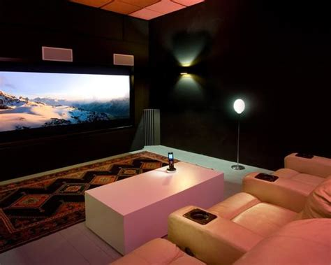 Home Cinema Salle Dédiée 4544 by Decora 231 227 O De Home Theaters Em Ambientes 50 Fotos Para