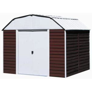 Metal Sheds At Home Depot by Arrow Barn 10 Ft X 8 Ft Metal Storage Building Rh108