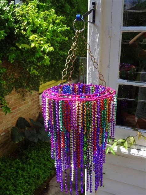 beads decoration home mardi gras decoration to make one day pinterest