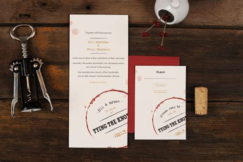 Wine Themed Wedding Invitations by Wine Themed Wedding Invitations Handmade Wedding