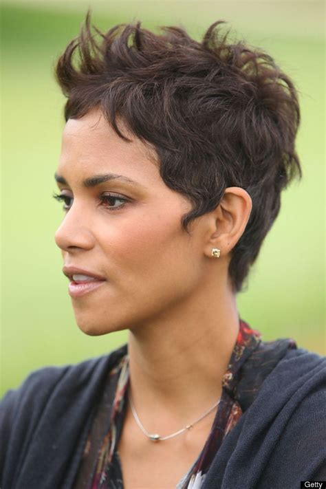 how to get halle berrys pixie cut halle berry short hair is who i am