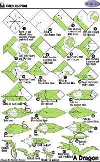 cara membuat origami naga merah macam macam origami fachri s blog