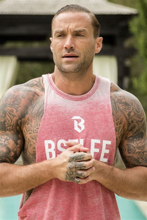 Looks Like Calum Best Is A Coke by Calum Best Signs Up For Go Dating Following Split