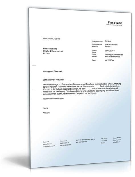Antrag Vorlage Elternzeit beliebte downloads rechtliches 187 dokumente vorlagen