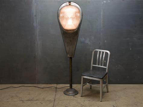 Vintage Steampunk Super Guppy Industrial Floor Lamp