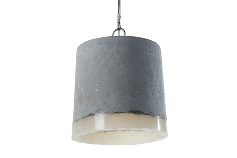 Concrete Light Pendant Concrete Pendant Light Large By Renate Vos