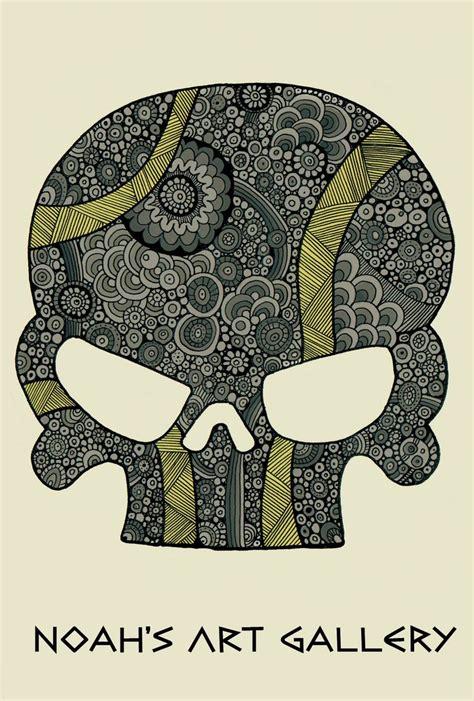 doodle skull meaning skull doodle zentangle noah s artwork drawings