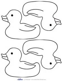 Duck Template by Rubber Ducky Onsie Template