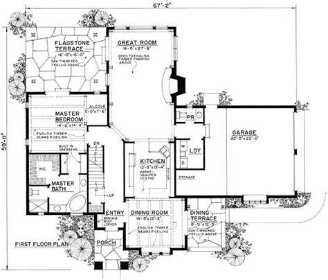 english house floor plans english cottage