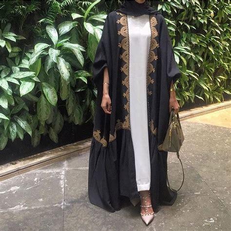Abaya Turki Black Gold 580 best images about abayas dubai kaftans on