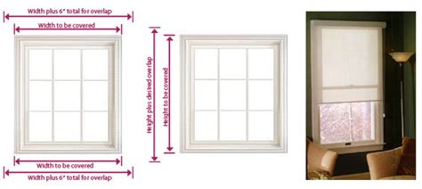 how to measure for shades outside mount sb blmeasuringinstallation