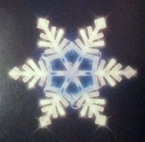 snowflake window lights lighted window decoration snowflake white